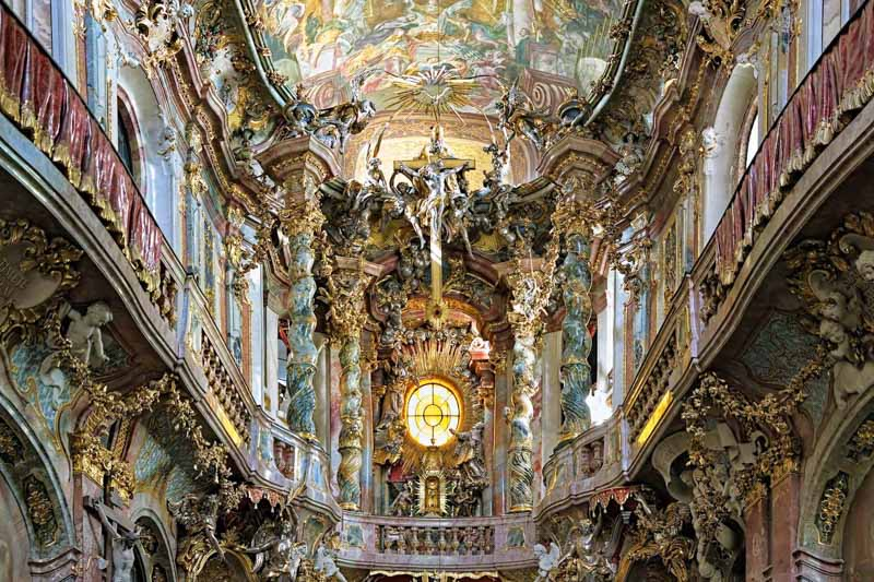 Bayern, Decor, altar, architectural, architecture, art, asam, asamkirche, baroque, bavaria, bench, cathedral, catholic, catholicism, ceiling, chapel, christian, christianity, church, city, crucifix, fresco, fretwork, germany, gold, indoor, inside, interior, johann, magnificent, munich, nepomuk, old, painting, religion, rich, sculpture, square, statue, style, superb, tourism, travel, view, vintage